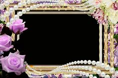 Love Photoshop Frames and Borders | Romantic Frame for Photoshop - The world of flowers