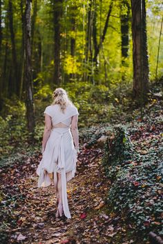 Fall wedding portraits at Black Mountain Sanctuary wedding venue, North Carolina, by Jameykay & Arlie Photography.