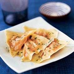 #Fall is nearly here. #Pumpkin Ravioli #healthy #recipes