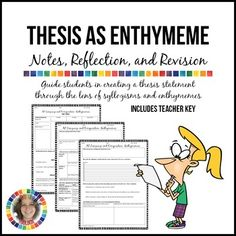 AP Language and Composition Thesis as Enthymeme Graphic Organizer
