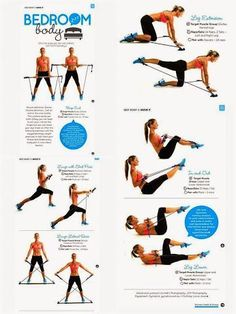 """""""This awesome Gymstick workout by Lila Hall was featured in Women's Health and F. - Sarah Brown - - """"This awesome Gymstick workout by Lila Hall was featured in Women's Health and F. Resistance Workout, Resistance Band Exercises, Stretch Band Exercises, Gym Workouts, At Home Workouts, Band Workouts, Exercise Bands, Pilates For Beginners, Beginner Pilates"""
