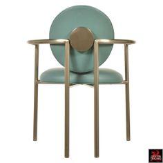 Set of Eight Brueton Armchairs by Stanley Jay Friedman 6
