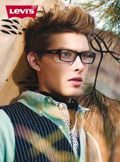 Levi's Japan 2014 Eyewear Advertisement - Male Optical