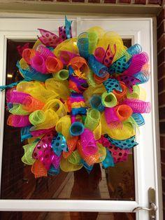 Fiesta wreath!!!❤️