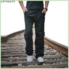 Cheap tactical trousers, Buy Quality cargo jogger pants directly from China fashion joggers Suppliers: 2017 Men High Quality Cotton Cargo Joggers Pants Military Outdoors Tactical Trousers Male Fashion Loose Casual Solid Plus Size Jogger Pants, Cargo Pants, Men Trousers, Fashion Joggers, Loose Pants, China Fashion, Male Fashion, Casual Pants, Cool Things To Buy