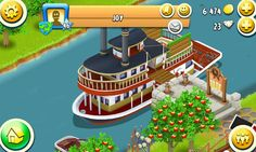 Hay Day-boat