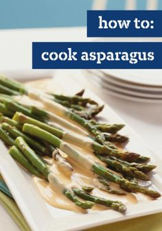 How to cook asparagus – michele walks us through buying, preparing, and serving asparagus, as a healthy side dish. learn about the different varieties of Healthy Side Dishes, Easy Healthy Dinners, Vegetable Side Dishes, Side Dish Recipes, Easy Dinner Recipes, Healthy Recipe Videos, Healthy Recipes, Healthy Breakfast Wraps, Clean Eating