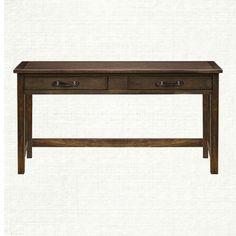 partners desks tremont credenza in midnight java arhaus furniture bennington ethan allen desk