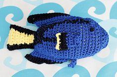 Yarn needed - bright blue, yellow, black and white yarn
