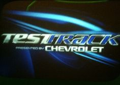 We will ride Test Track after we eat!