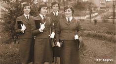 """1960 - Kadro tanımları """"hostes"""" olan ve ağırlıklı olarak Şişli bölgesinde görev yapan bayan biletçiler"""