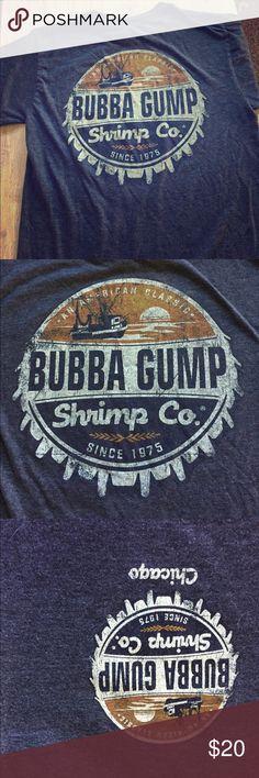 Bubba Gump shrimp co - small Excellent condition.  Bubba Gump Shrimp Co shirt.  Small Tops Tees - Short Sleeve