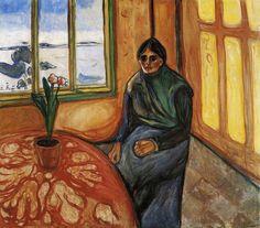 Edvard Munch - 1899, Melancholy, Laura
