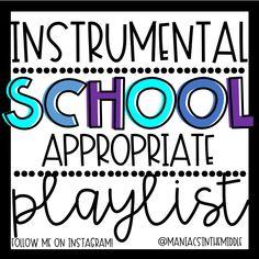 Middle School Classroom, Music Classroom, Future Classroom, Classroom Ideas, Classroom Organization, Classroom Playlist, Transition Songs, Teaching Tools, Teaching Ideas