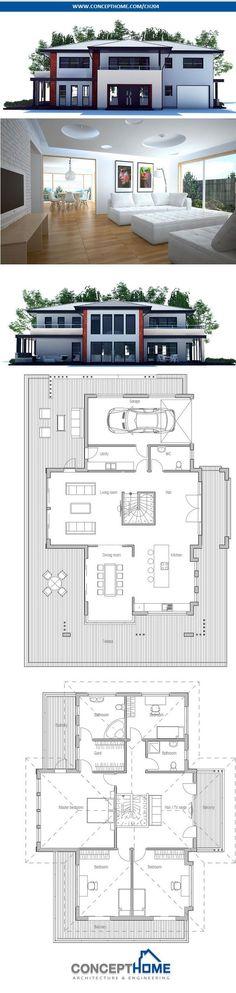 Modern House Plan.
