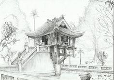 one_pillar_pagoda_by_phamthuhuong-d586t4r.jpg (1066×750)