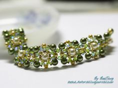 Dip your toe into bead stitching patterns with the Rikku Bracelet Tutorial! This beautiful DIY bracelet is perfect for the newcomer to bead stitching, and the result is stunningly intricate.