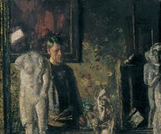 Walter Richard Sickert 'Self-Portrait: The Painter in his Studio' 1907