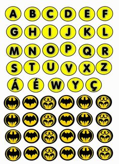 Kit de Batman para imprimir gratis. | Ideas y material gratis para fiestas y celebraciones Oh My Fiesta!