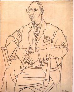 Pablo Picasso Famous Line Drawing