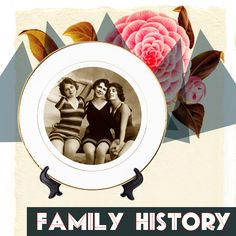 For the ambassador of vintage. Incorporate a piece of your family's history into a porcelain plate.
