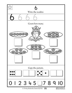 Free printable Preschool math Worksheets, word lists and activities. Numbers Preschool, Preschool Math, Teaching Math, Maths, Kindergarten Age, Kindergarten Worksheets, Printable Preschool Worksheets, Free Printable, Writing Numbers