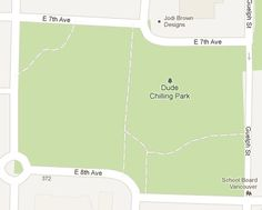 Dude Chilling Park in #YVR... now on Google Maps!