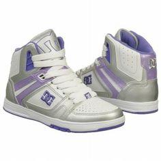 6a75da2c7c DC Shoes Women s Stance Hi Shoes (Mtlc Silver Purple)