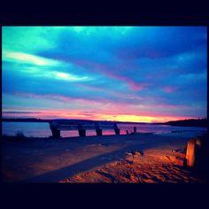 Sunset lastnight x2