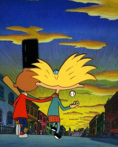 Happy to my fave BFFs, Gerald and Arnold! Dope Cartoons, Retro Cartoons, Classic Cartoons, Animated Cartoons, Black Cartoon Characters, Cartoon Icons, Cartoon Memes, Hey Arnold, Arnold Wallpaper