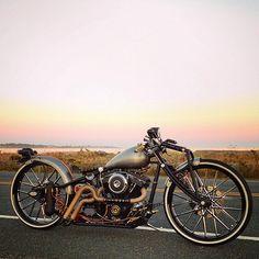 Custom Harley | Bobber Inspiration - Bobbers and Custom Motorcycles September 2014