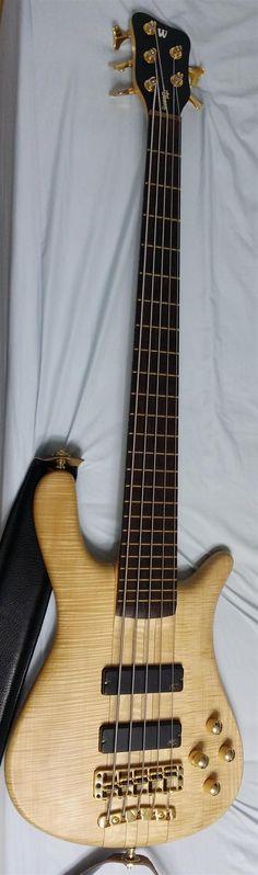 Warwick Streamer Stage I 5 String Bass | 34jt