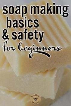 Learn how to get started making your own soap! Soap making for beginners, recipes, cold process, natural, videos, step by step, DIY, homemade, essential oils, easy, organic, tallow. #diy #bathandbody #gifts