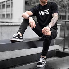 Vans vans or ? Follow @mensfashion_guide for more! By @tobilikee #mensfashion_guide #mensguides