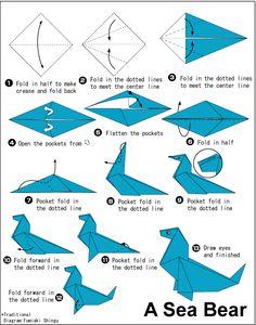 A arte do Origami   Tutoriais
