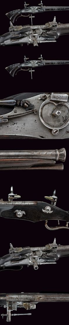 A composite wheel-lock gun. provenance: Europe dating: 18th Century