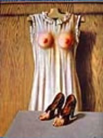 Philosophy in the Boudoir by: Rene Magritte