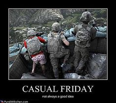 Funny Military Pictures: Casual Friday