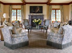 great set up for a formal living room