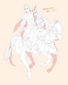 Fire Emblem: If/Fates - Aqua and Cyrus