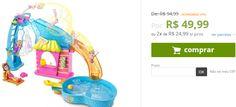 Polly Pocket - Festa na Piscina - Mattel << R$ 4999 em 2 vezes >>
