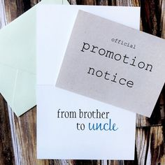 Pregnancy announcement card for brother ! Need this announcement card for brother ! Vogue Kids, Pregnancy Announcement Cards, Baby Surprise Announcement, Grandparent Pregnancy Announcement, Pregnancy Announcement To Husband, Birth Announcements, Surprise Pregnancy, After Baby, Pregnant Mom