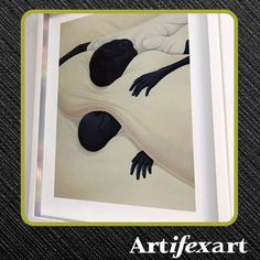 @artifexart posted to Instagram: Created by: wademaxx. Float framing is not new but a contrasting spacer, in this case metallic silver, is new and creative.   #artifexart #Artifexart_Art_Consultants #customframing #pictureframing #custompictureframing #frameshop #commercialinteriordesign #interiordesign #healthcareart #corporateart #lobbyart #moderndecor #homedecor #decor