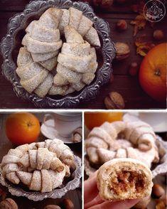 Kiflice Recipe, Christmas Cookies, Cake Recipes, Cooking Recipes, Cakes, Xmas Cookies, Christmas Crack, Easy Cake Recipes, Cake Makers