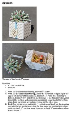 party box tutorial gift boxes, tutorials, cakes, bag, paper box tutorial, card, divas, paper boxes, crafti idea