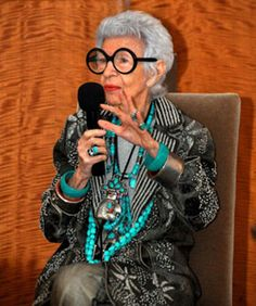 What We Learned From Iris Apfel (And Her Talk At Sotheby's) #refinery29