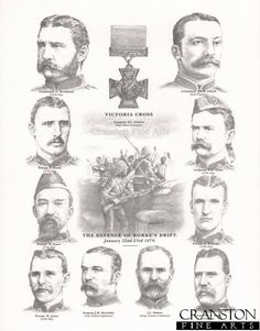 Victoria Crosses awarded for the Defence of Rorke's Drift, Zululand - January, British Armed Forces, British Soldier, British Army, Military Art, Military History, Age Of Empires, Historical Artifacts, Pulp Art, British History