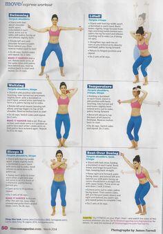 Arm moves Fitness magazine 001