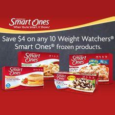 $4 off of 10 Weight Watchers Smart Ones - http://getfreesampleswithoutsurveys.com/4-off-of-10-weight-watchers-smart-ones