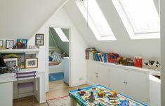 Bekijk onze tips voor het inrichten van een zolder als kinderkamer. 10 tips om een leuke kinderkamer te creëren op de zolder. MakeOver.nl met tips!